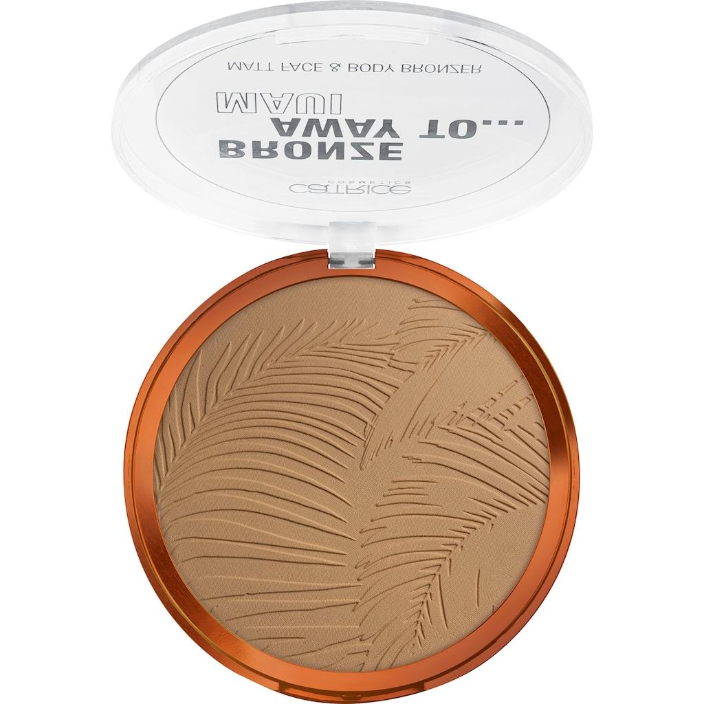 Catrice Bronzer-Puder »Bronze Away To... Matt Face & Body Bronzer C01«