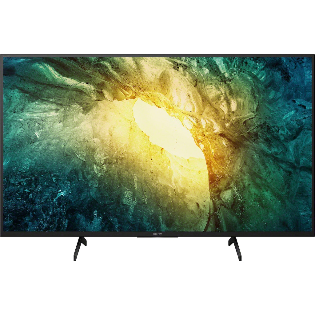 "Sony LED-Fernseher »KD-43X7055 Bravia«, 108 cm/43 "", 4K Ultra HD, Smart-TV"