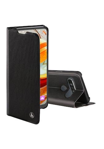 """Hama Backcover »Smartphone-Booklet Tasche«, """"Slim Pro"""" für LG K61, Schwarz kaufen"""