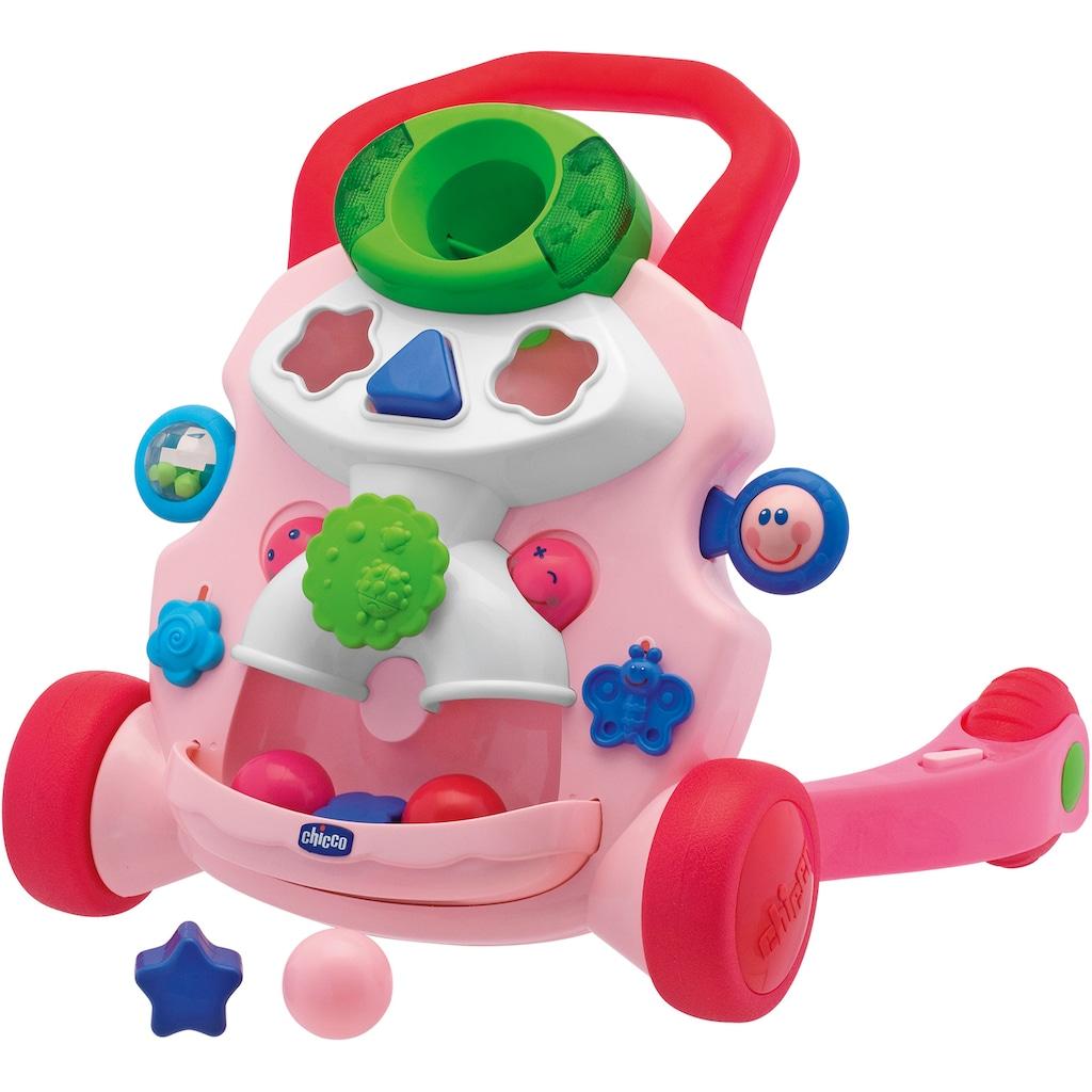 """Chicco Lauflernhilfe """"2in1 Chicco Lauflernwagen, rosa"""""""