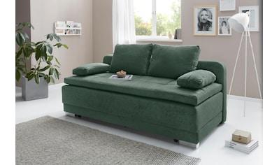 COLLECTION AB Schlafsofa, mit Bettfunktion und Bettkasten, frei im Raum stellbar,... kaufen
