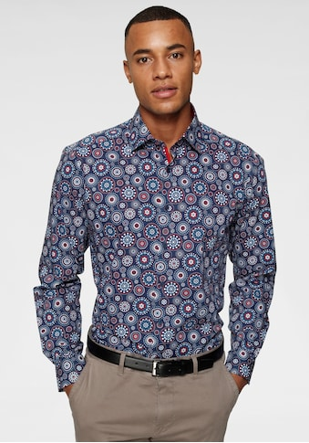 Bruno Banani Businesshemd, trendiger Alloverprint kaufen