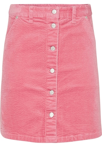 TOMMY JEANS Cordrock »TJW CORD BUTTON THRU SKIRT« kaufen