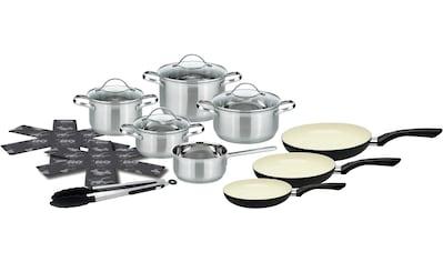 Elo - Meine Küche Topf-Set, Edelstahl 18/10, (Set, 15 tlg.), Induktion kaufen