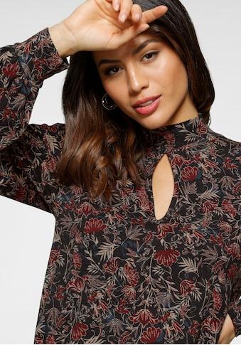 Laura Scott Langarmshirt, mit voluminösen Ärmeln - NEUE KOLLEKTION kaufen