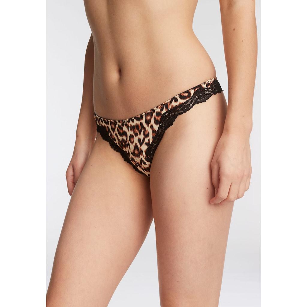 JETTE String, mit Leopardenmuster