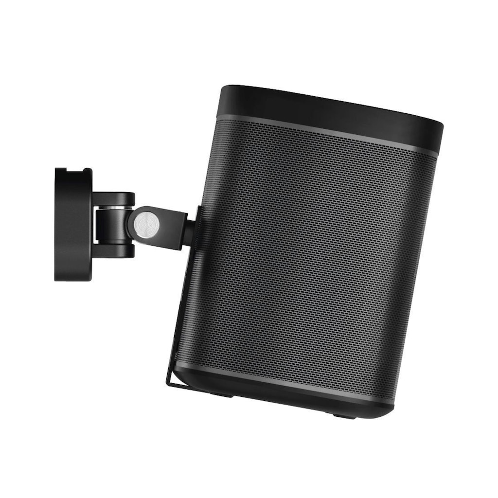 Hama Wandhalterung für Sonos PLAY:1 Lautsprecher, schwarz