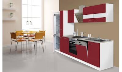 Küchenzeile »Ibiza«, mit E - Geräten, 310 cm kaufen