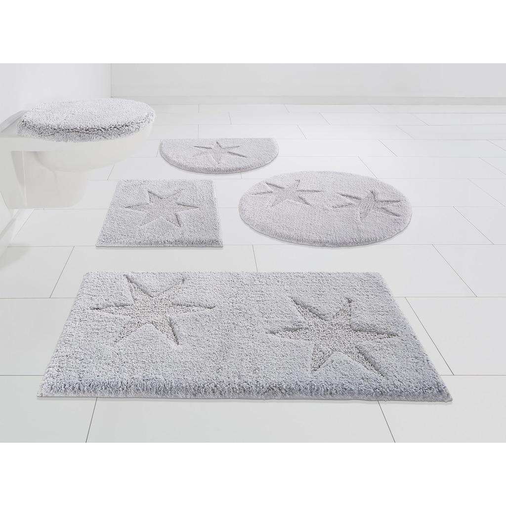 andas Badematte »Marie«, Höhe 13 mm, schnell trocknend, Baumwollmatte