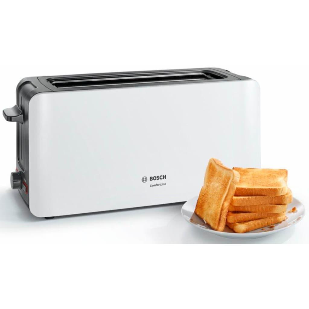 BOSCH Toaster »ComfortLine TAT6A001«, 1 langer Schlitz, 915 W