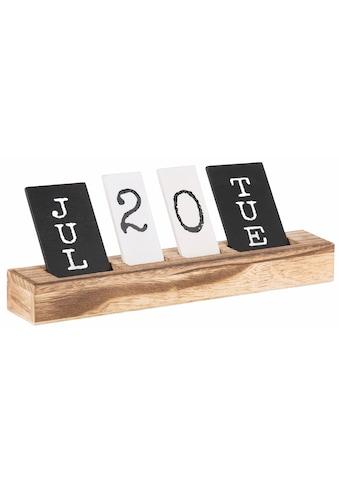 Home affaire ewige Kalender kaufen
