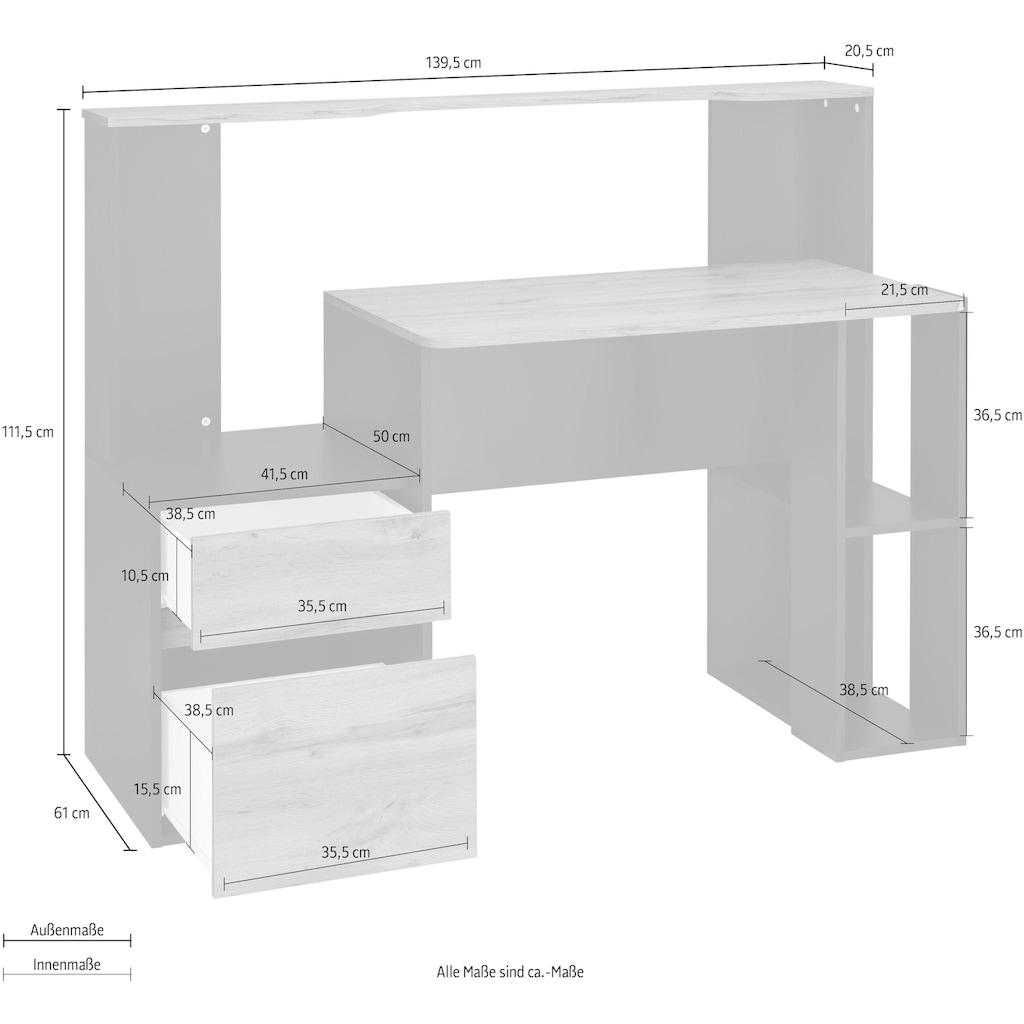 Schreibtisch »Erne«, Breite 139,5 cm
