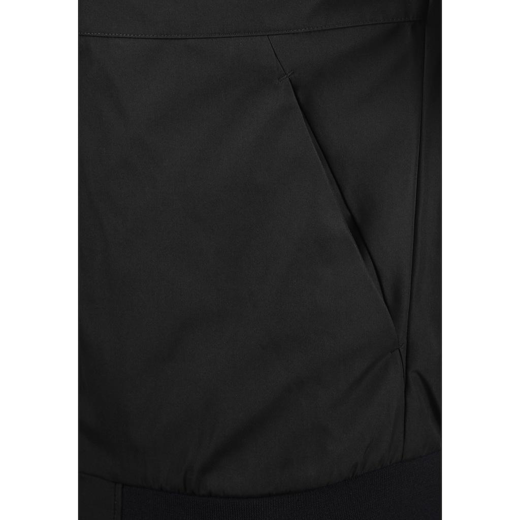 Jack & Jones Kurzjacke »Jason«, Übergangsjacke mit kontrastfarbenen Reißverschlüssen