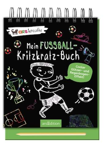 Buch »Mein Fußball-Kritzkratz-Buch / DIVERSE« kaufen