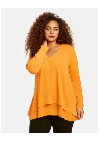 Samoon Blusenshirt »Blusenshirt in A - Linie« kaufen