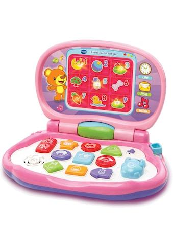 """Vtech® Kindercomputer """"Entdecker Laptop, pink"""" kaufen"""