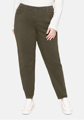 Sheego Stretch-Hose, mit Teilgummibund hinten kaufen