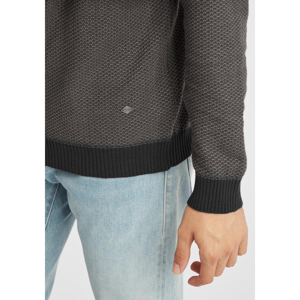Solid Strickpullover »Dumon«, Strickpulli aus Feinstrick