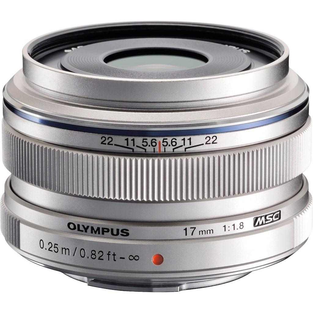Olympus Weitwinkelobjektiv »M.ZUIKO DIGITAL 17 mm«