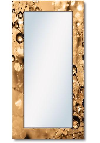 Artland Wandspiegel »Farbenfrohe Natur«, gerahmter Ganzkörperspiegel mit Motivrahmen,... kaufen