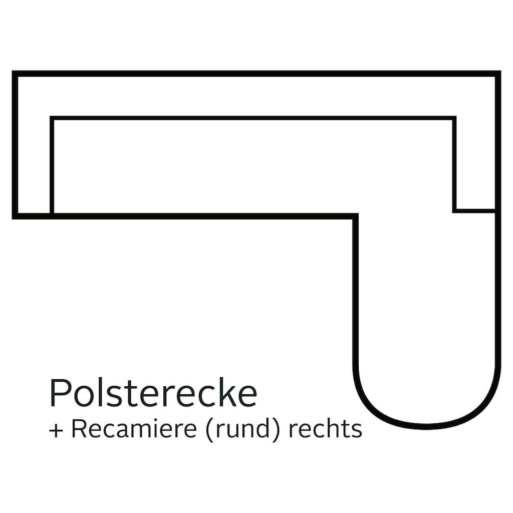 DOMO collection Ecksofa »Papenburg Top«, wahlweise mit Bettfunktion