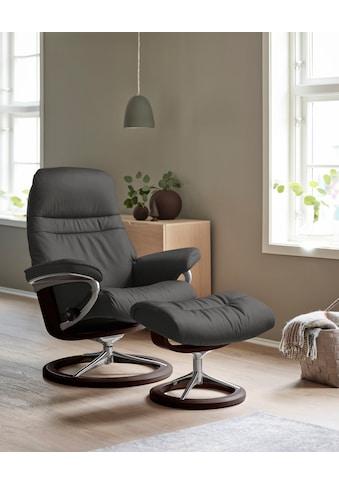 Stressless® Relaxsessel »Sunrise«, mit Signature Base, Größe L, Gestell Braun kaufen