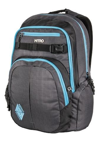 NITRO Schulrucksack »Chase Blur  -  Blue Trims« kaufen