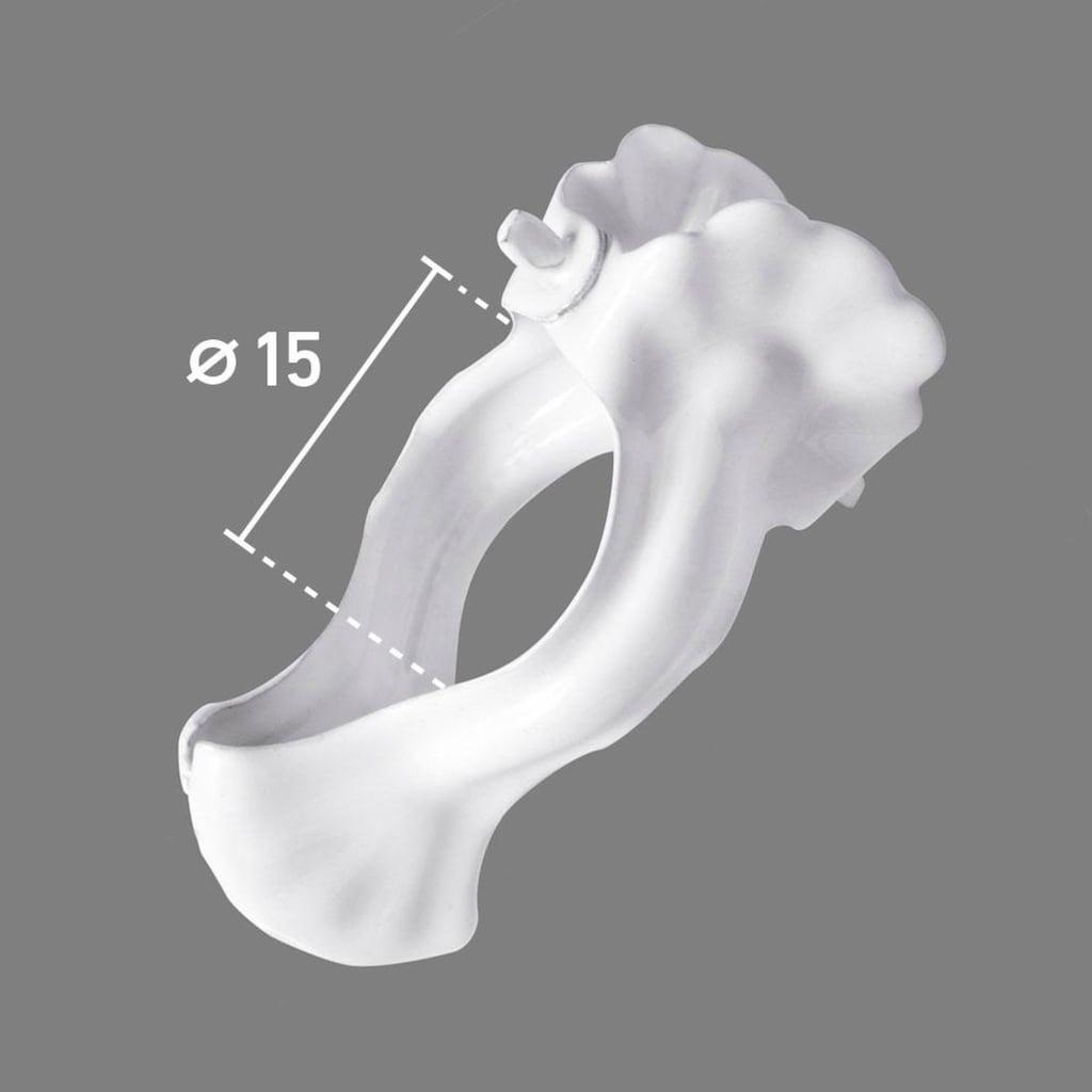 Good Life Dekoklammer »Lale«, (Packung, 10 St.), für Scheibenstangen bis Ø 10 mm