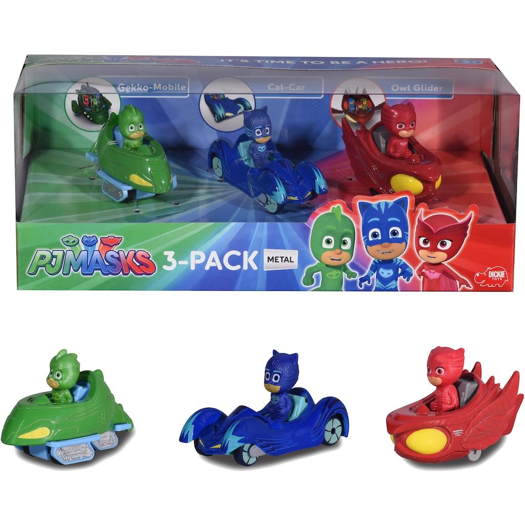 """Dickie Toys Spielzeug-Auto """"PJ Masks 3-Pack"""" (Set, 3-tlg.)"""