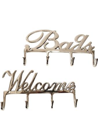 Home affaire Wandhaken »Bags und Welcome« kaufen