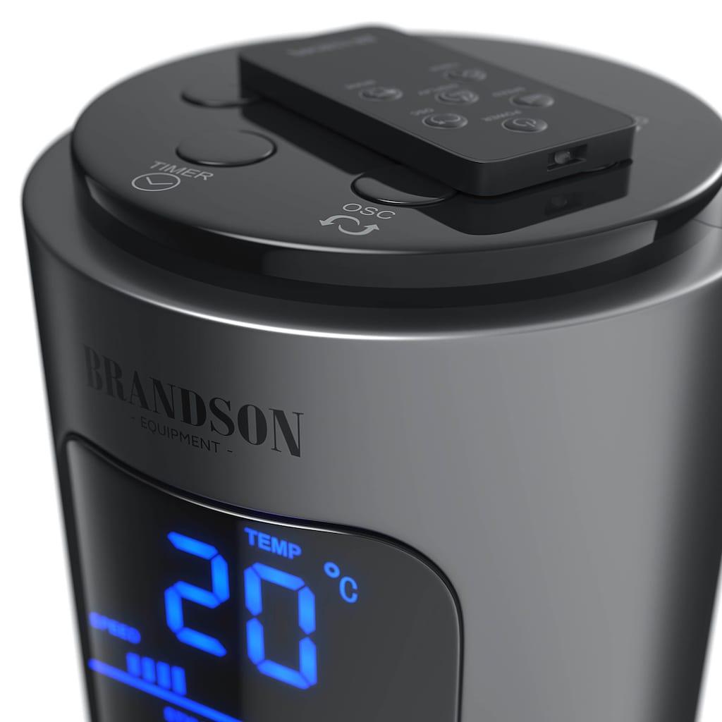 Brandson Turmventilator mit Fernbedienung, Display & Oszillation