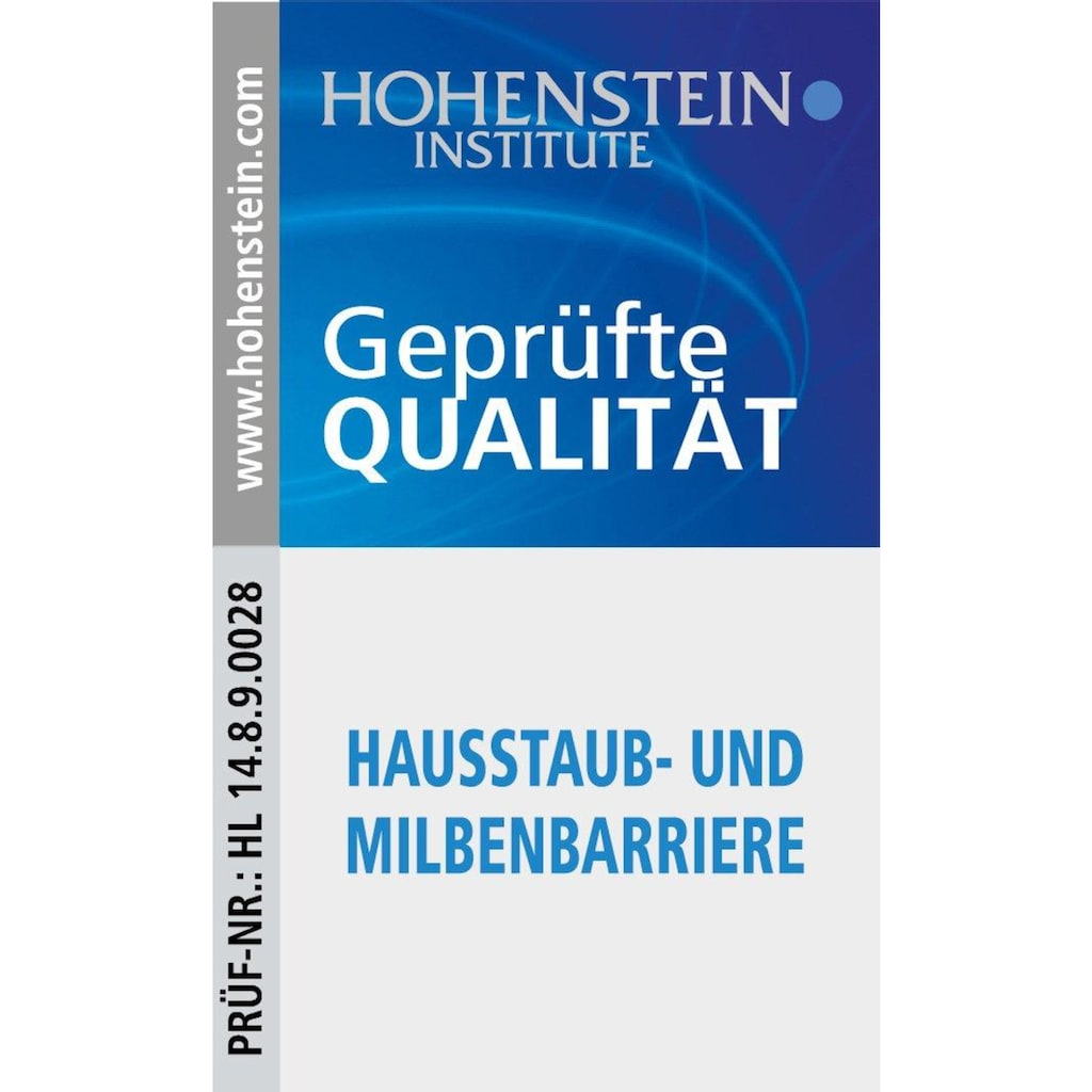 Sannwald Einziehdecke »Kuscheltraum - Hausstaub- & Milbenbarriere«, (1 St.)