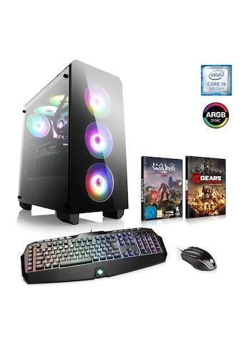 CSL Extreme Gaming PC Core i9 - 9900K | RTX 2080 Ti | 32 GB DDR4 | SSD »HydroX T9975 Wasserkühlung« kaufen