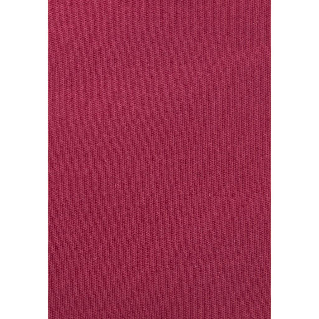 s.Oliver Sweatkleid, mit besetzter Kängurutasche