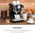 Klarstein Espressionata Gusto Espressomaschine 1100W 15 Bar