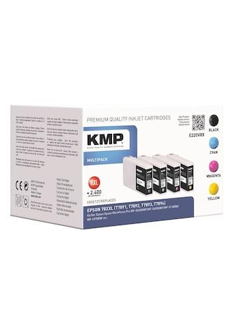 KMP Tintenpatronen-Set ersetzt Epson 78XXL kaufen