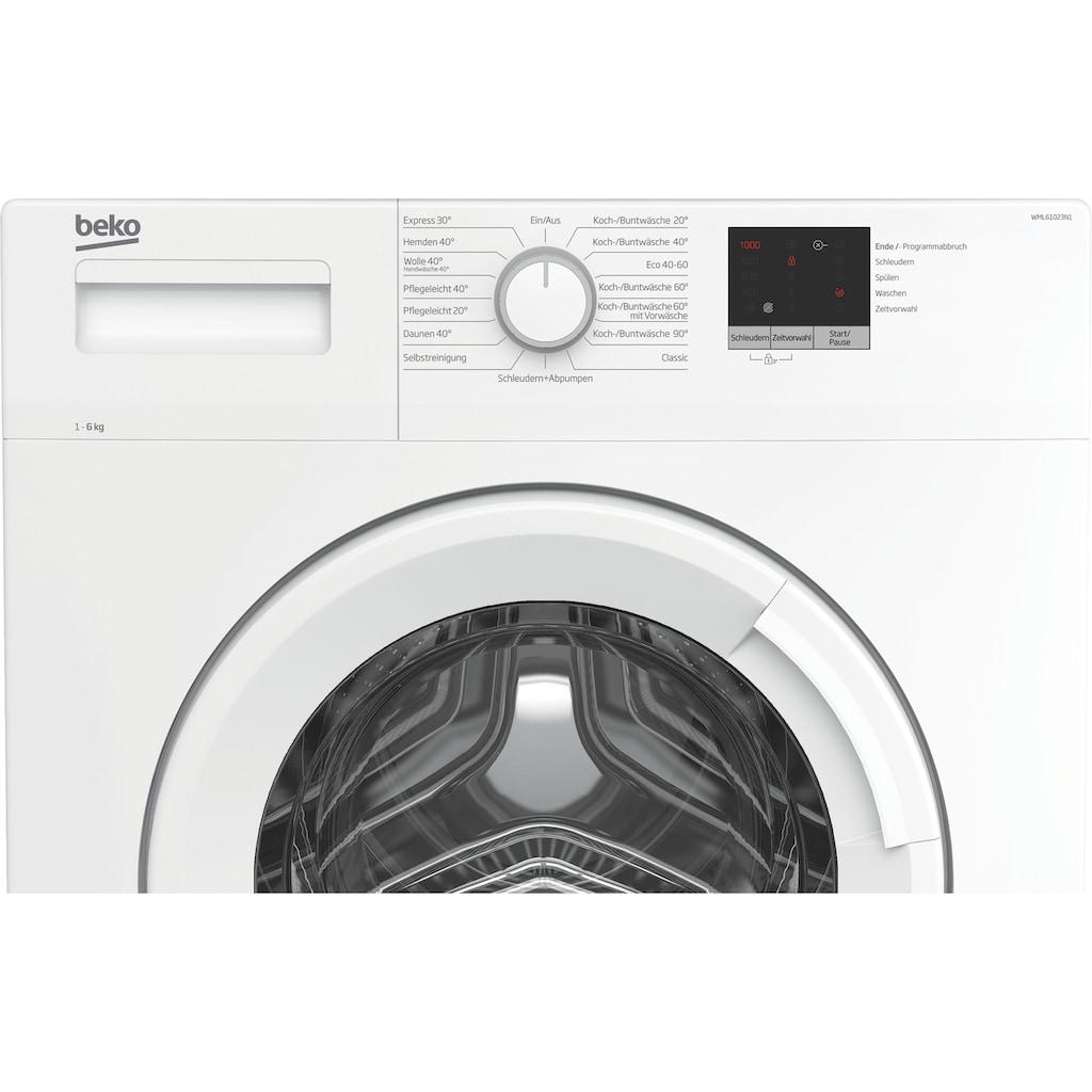 BEKO Waschmaschine »WML61023N1«, WML61023N1