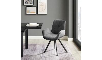 INOSIGN Esszimmerstuhl »Elif«, 2er-Set, Sitz und Rücken gepolstert, in 3 verschiedenen... kaufen