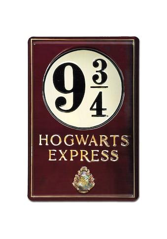 LOGOSHIRT Blechschild mit detailliertem Harry - Potter - Motiv kaufen