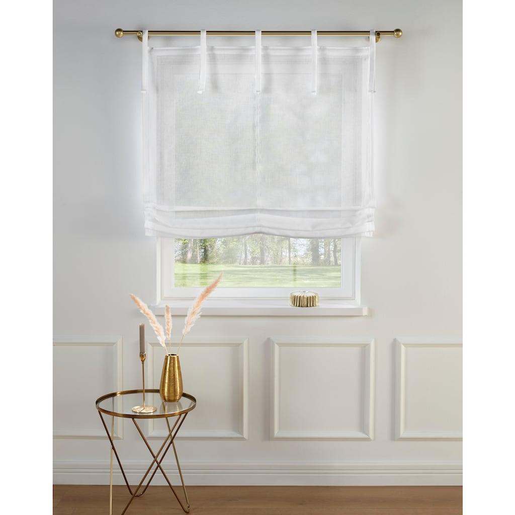 Guido Maria Kretschmer Home&Living Raffrollo »TENDER«, mit Bindebänder