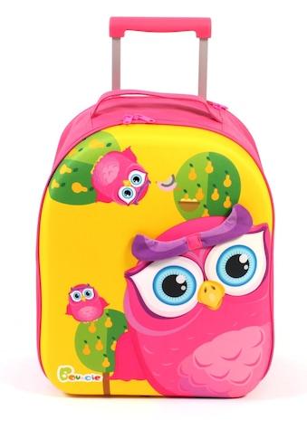 CHIC2000 Kinderkoffer »Bouncie, Eule«, 2 Rollen, Weichgepäck-Trolley kaufen