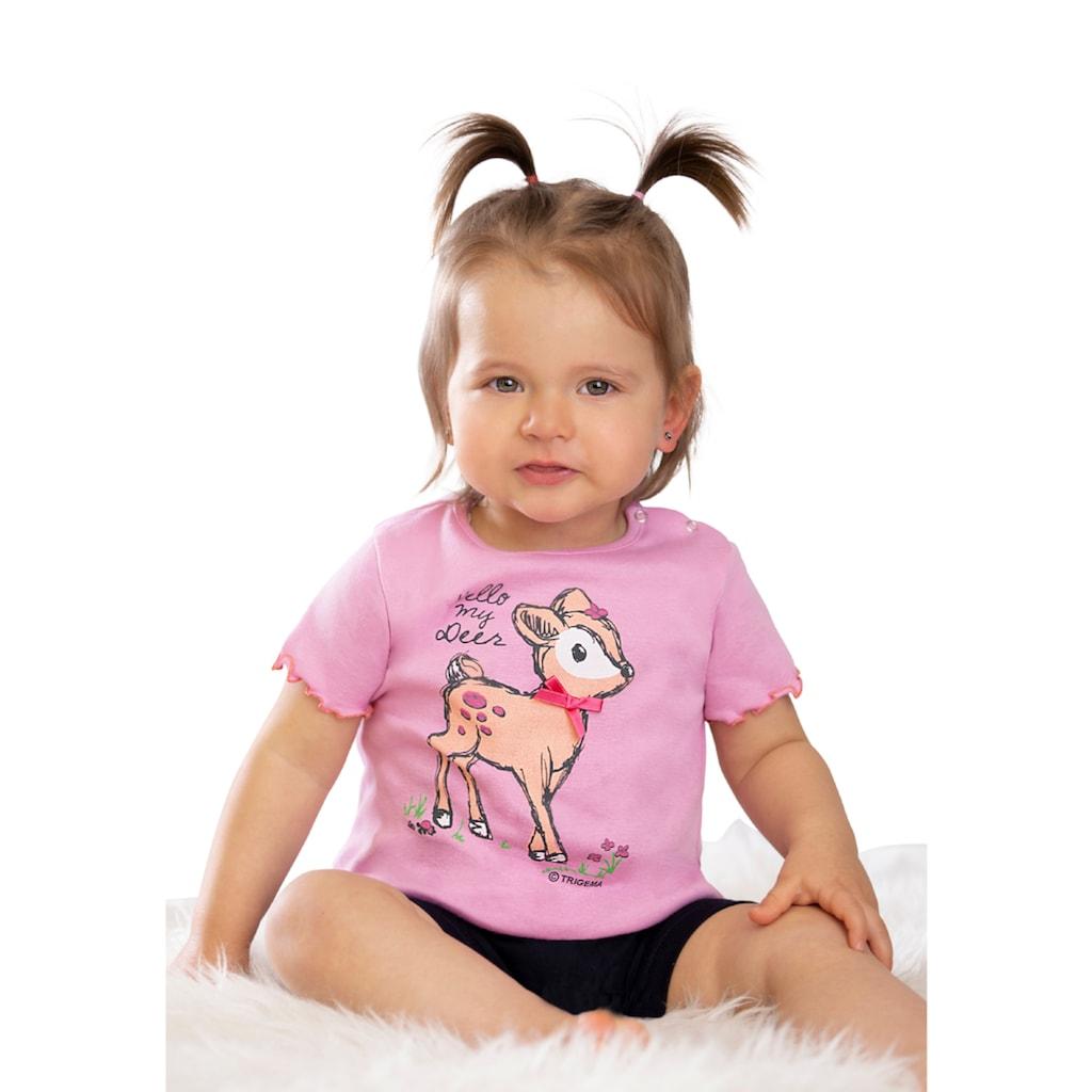 Trigema T-Shirt, mit süßem Druckmotiv