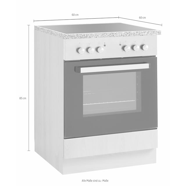 wiho Küchen Herdumbauschrank »Kiel«