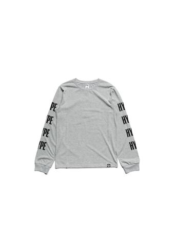 Hype Langarmshirt »Jungen Langarm - T - Shirt mit Logo - Schriftzug - Ärmeln« kaufen
