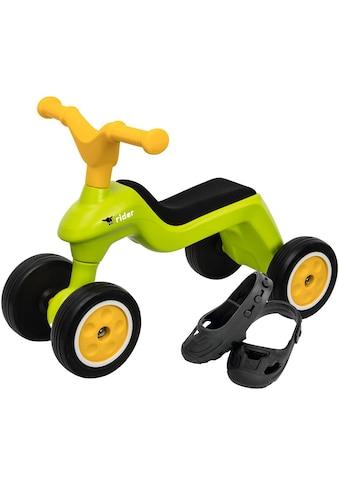 """BIG Rutscherauto """"BIG Rider + BIG Shoe Care, grün/gelb"""" kaufen"""