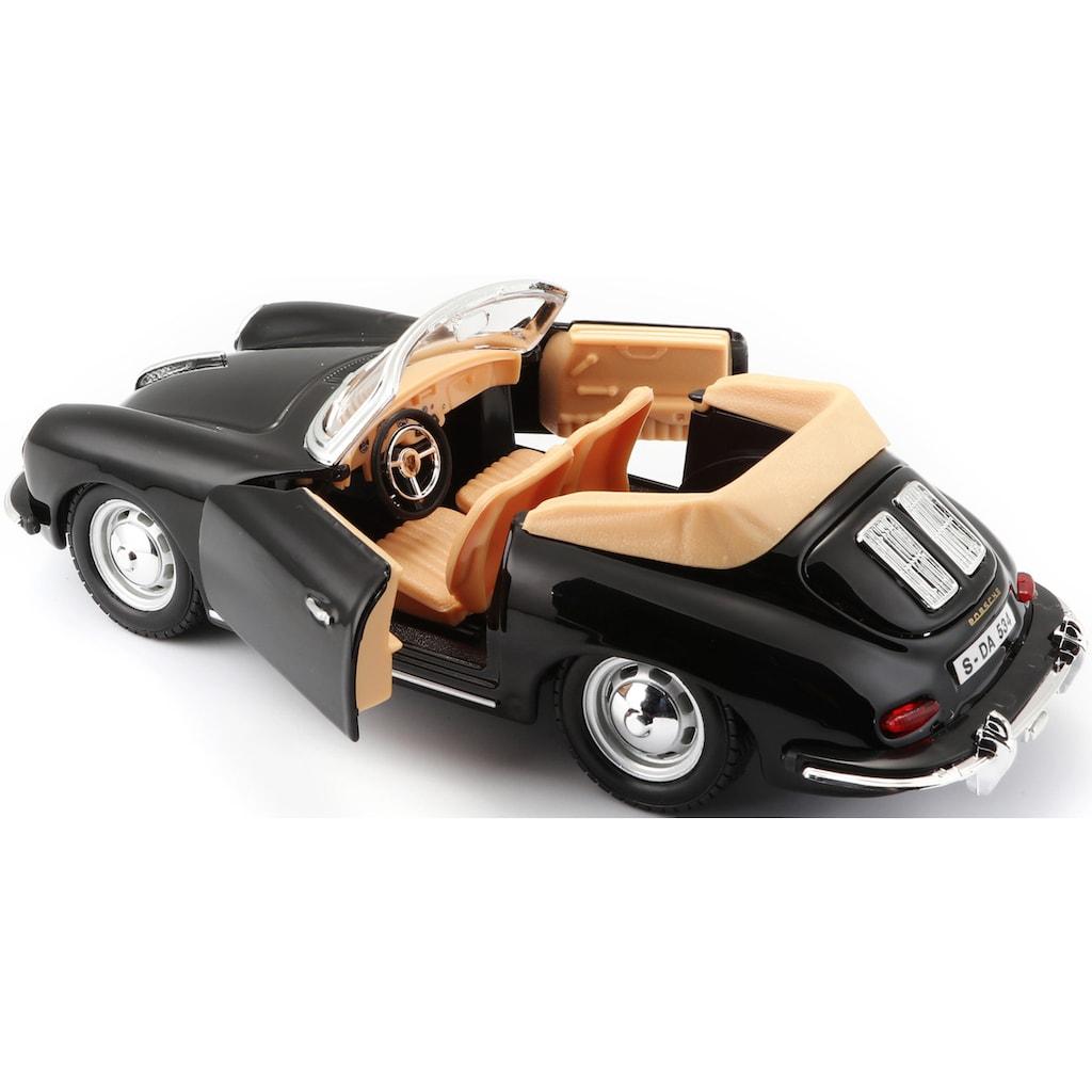 Bburago Sammlerauto »Porsche 356B Cabrio (1961)«, 1:24