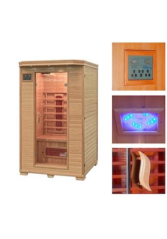 HOME DELUXE Infrarotkabine »Redsun M«, 40 mm, für bis zu 2 Personen kaufen