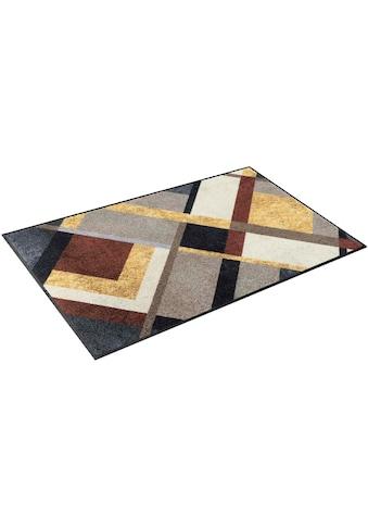 wash+dry by Kleen-Tex Teppich »Art Deco«, rechteckig, 7 mm Höhe, In- und Outdoor... kaufen