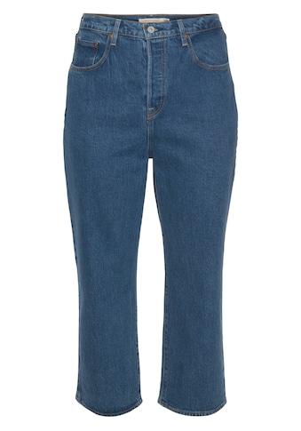 Levi's® Plus Ankle - Jeans »Ribcage Straight Ankle« kaufen