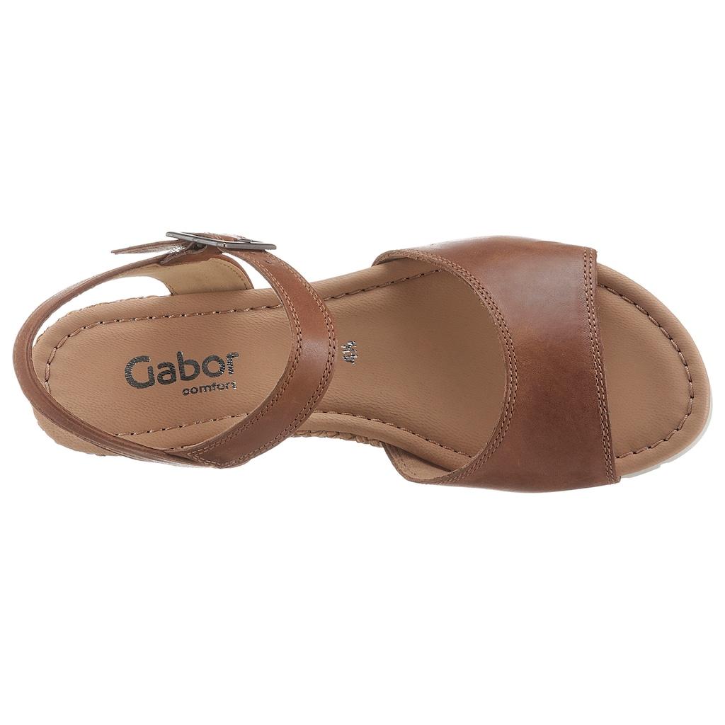 Gabor Sandalette »TUNIS«, in Weite G (=weit)